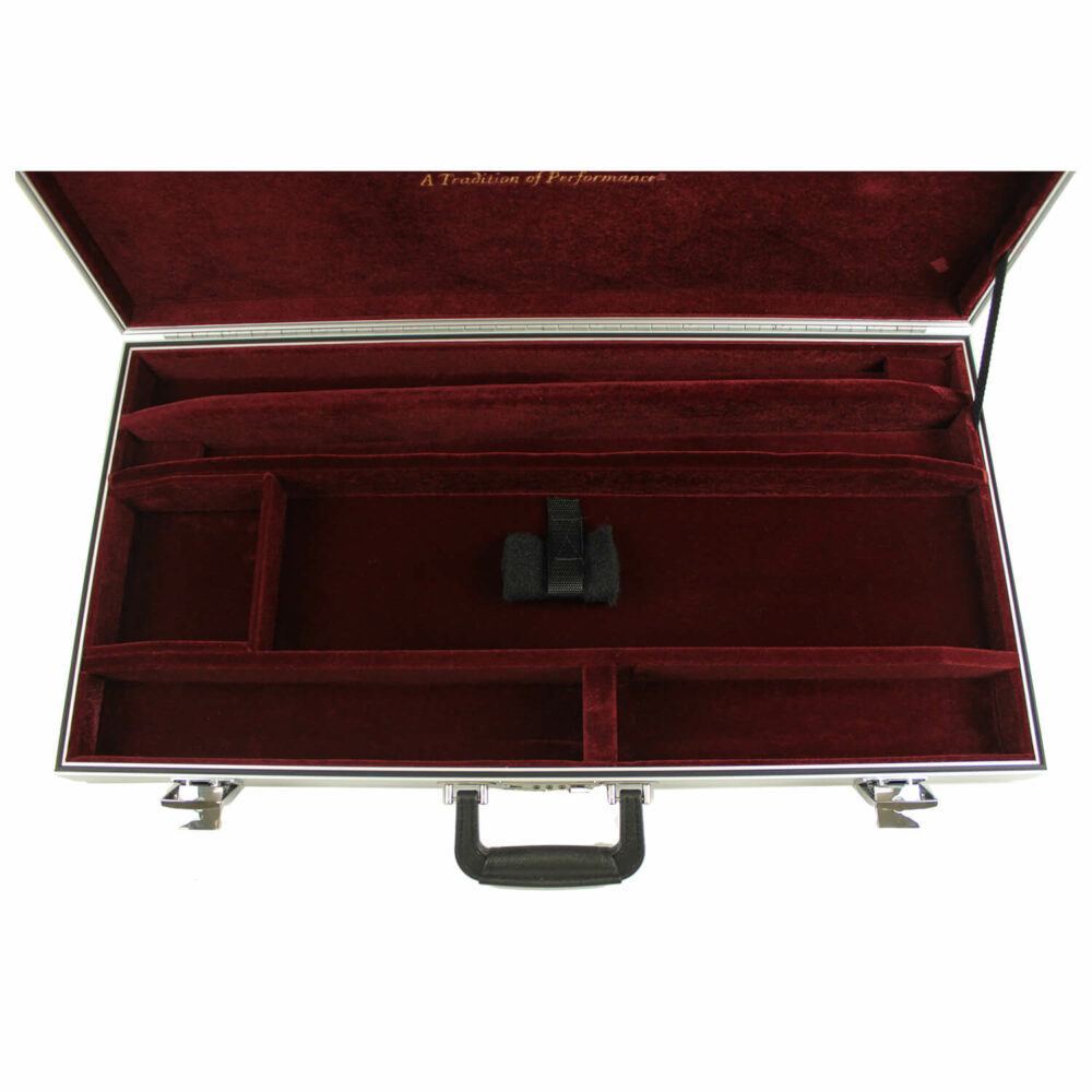 Americase Classic Double Rifle Case, Two Barrel Set, Holds Two Scopes