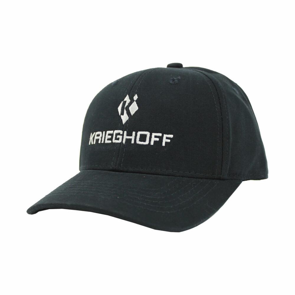 Krieghoff Cotton Twill Hat, Navy Blue