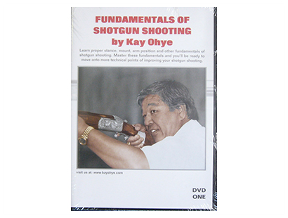 DVD, Kay Ohye's Fundamentals of Shotgun Shooting