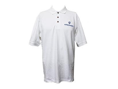 Polo, Cotton, White